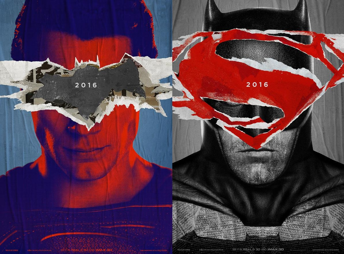 Batman Vs Superman Dawn Of Justice Teaser Posters Revealed