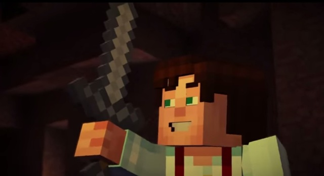 Prepare For Blocky Greatness With The Minecraft Story Mode Trailer What S A Geek