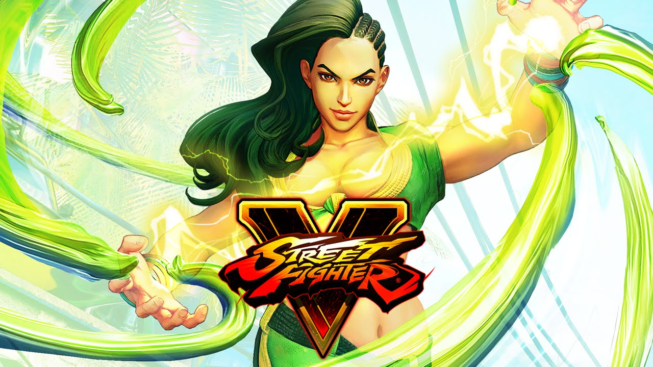 Laura Street Fighter V - What's A Geek