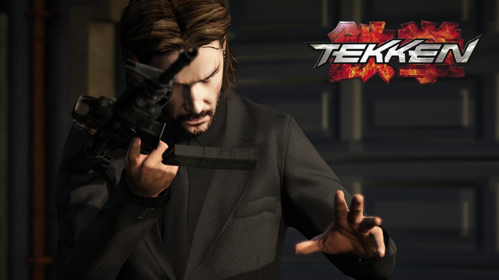 John Wick At Tekken 8 Bandai Namco Teases John Wick In Screenshots